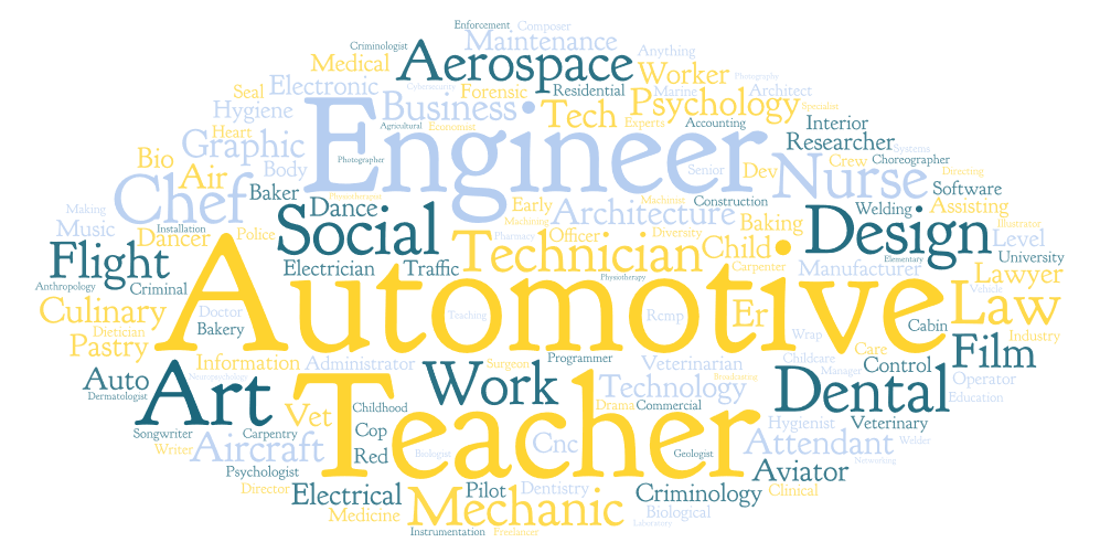 Graduate Survey Results: What is the CAREER you wish to pursue after high school?
